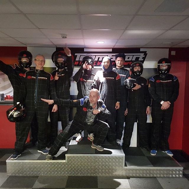 Took the team out for some well deserved down time on the karting track #paintinganddecorating #karting #icamelast #teamoutings #acton #allworknoplay