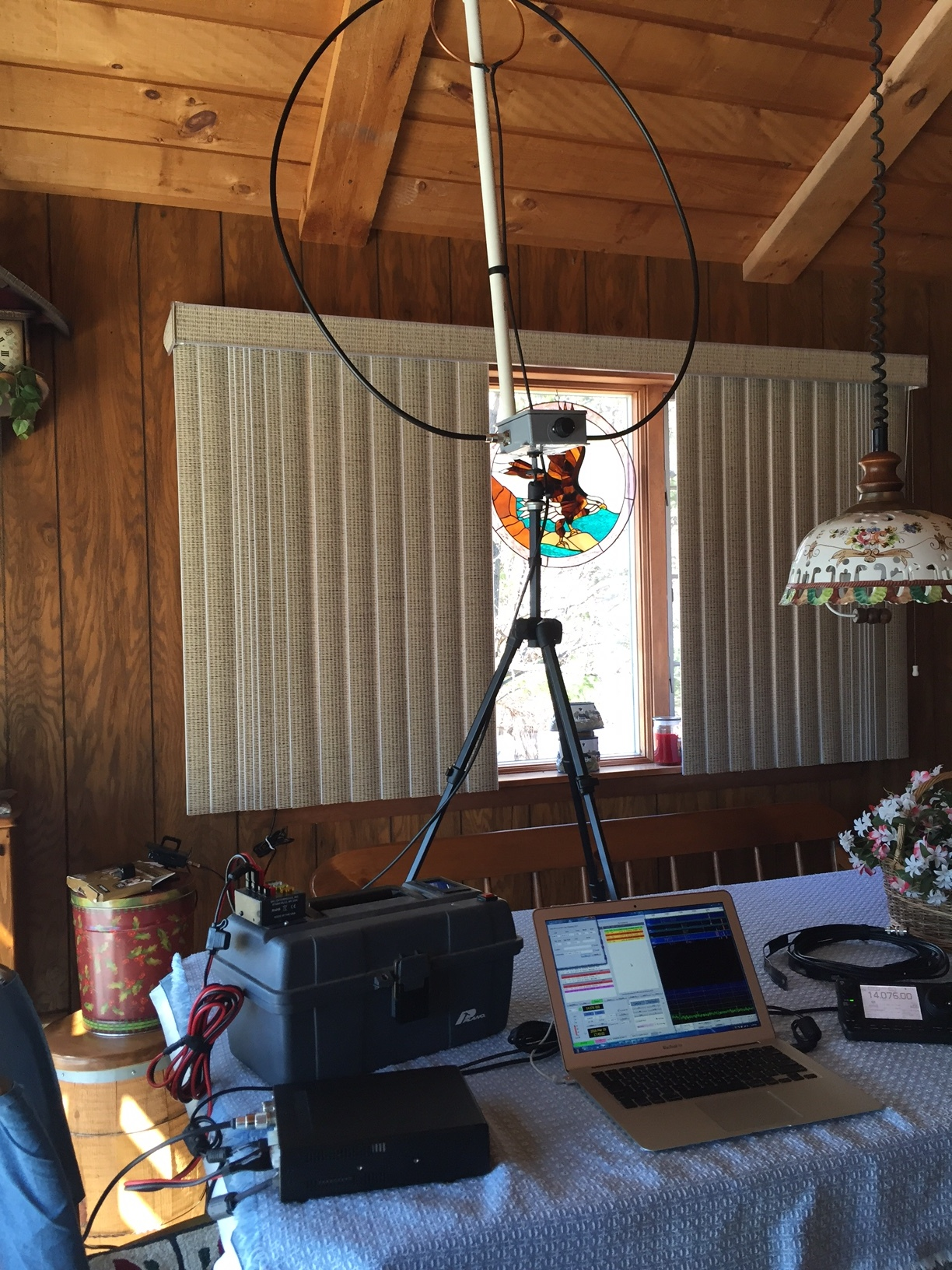 Portable Magnetic Loop Project — Tri-County Radio Association