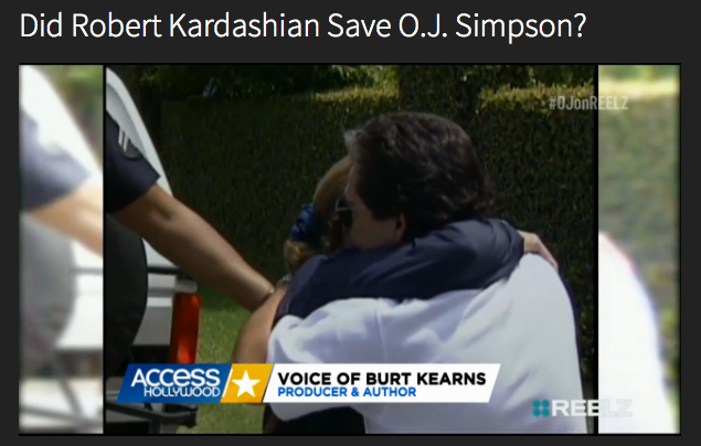 Access Hollywood covers Burt & the Kardashian special