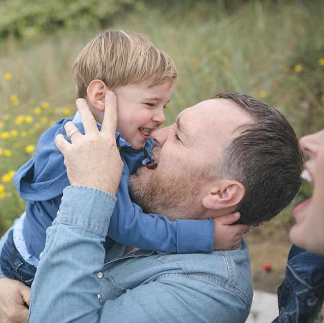 I asked him to give his dad a kiss, and instead, he took a little nibble of his nose. But no matter what he did, his parents erupted with laughter and the entire shoot was filled with delight. Family. What a joy it is to be a part of. . . . . . . #kelseymoll #fallfamilyphotos #seattlefamilyphotographer #seattlephotographer #familyphotography #laughter #seattle