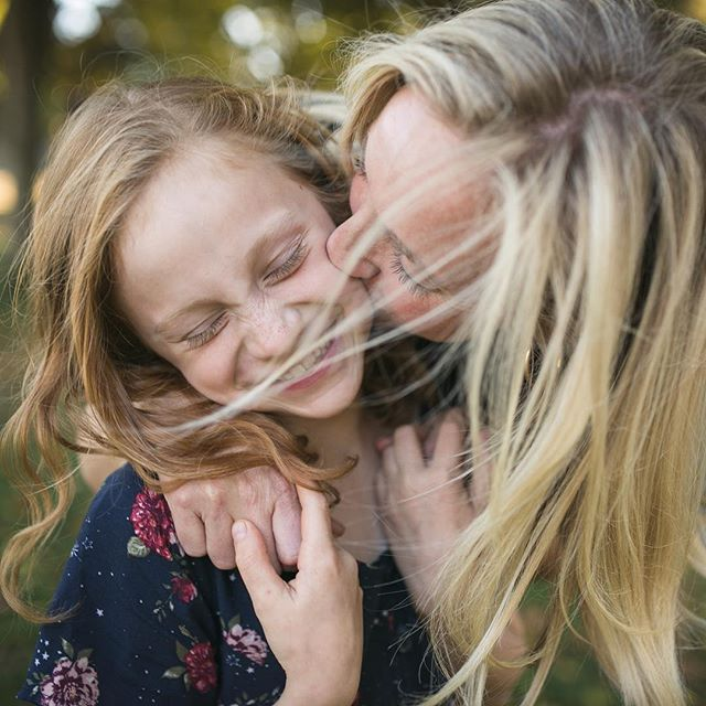 Editing photos of my beautiful friend and her gorgeous girl tonight. Sure there are pictures of both of them looking at the camera and smiling radiantly, but this one is my favorite. Real life and real love right here. . . . . . #seattlephotographer #makeportraits #thefamilynarrative #seattlefamilyphotographer #familyphotos #kelseymoll