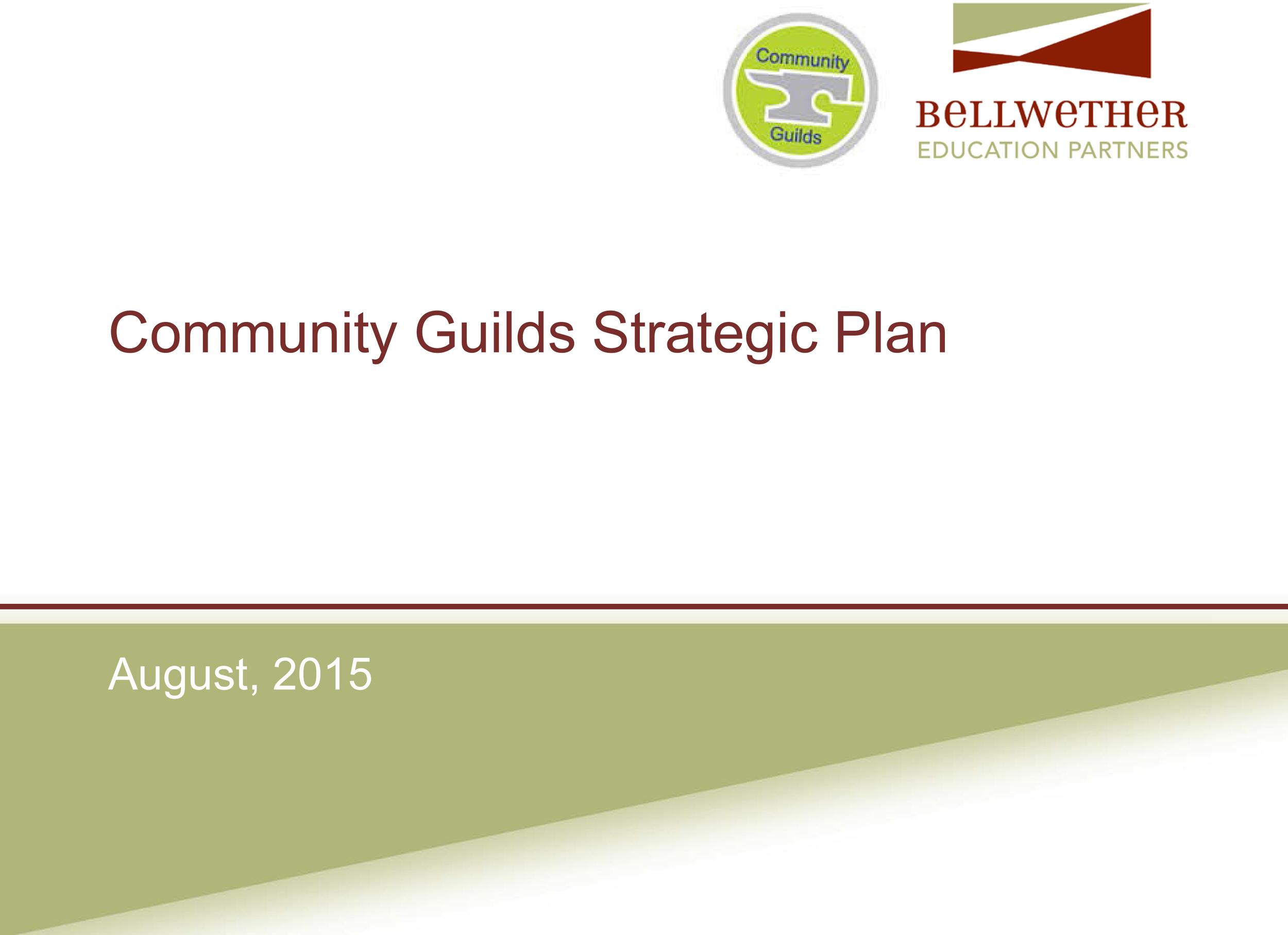 CGL strategic plan summary 2_7_16