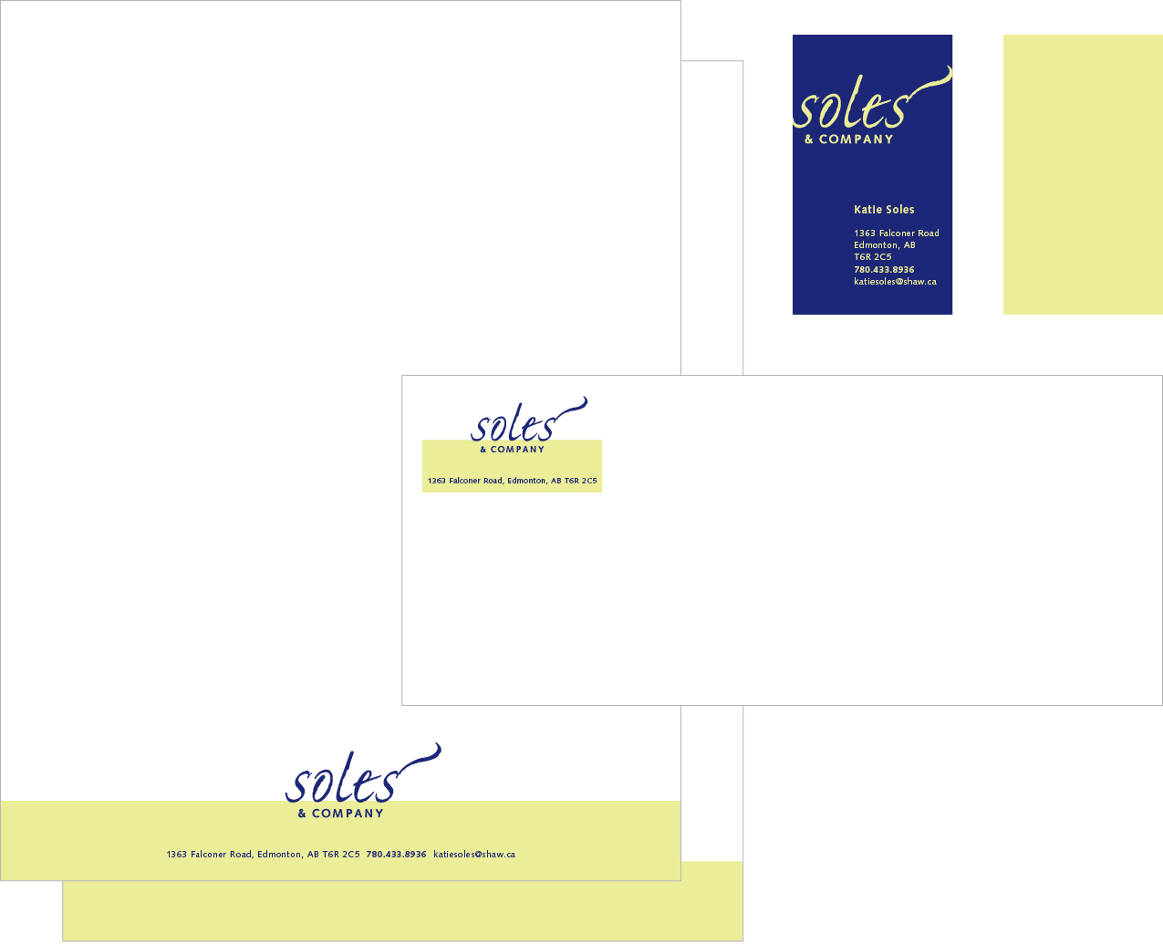 Collateral for Soles & Company