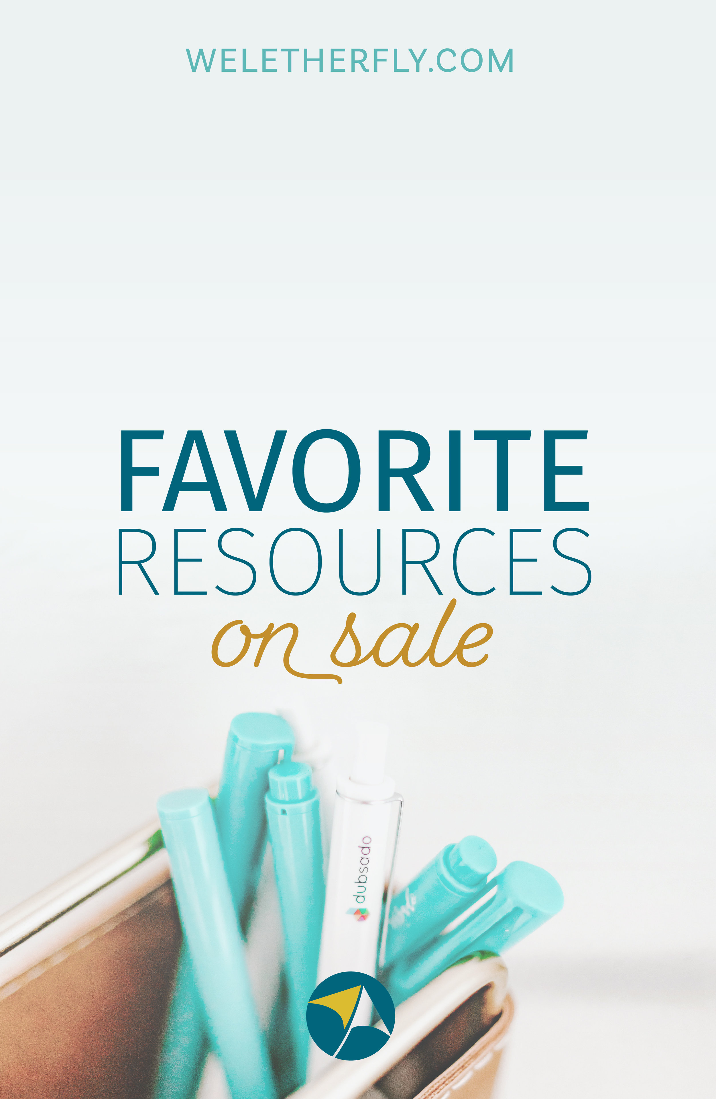 My favorite resources are on sale, Black Friday sale, by Michelle Clayton of Let Her Fly