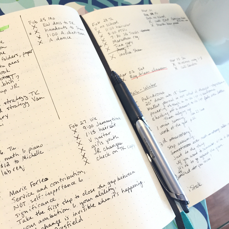 bullet journal basics