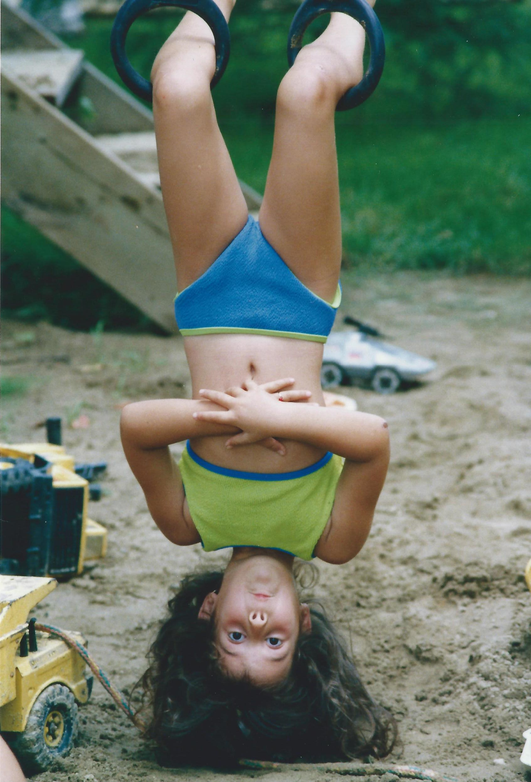 I think I still make that face when I'm upside down