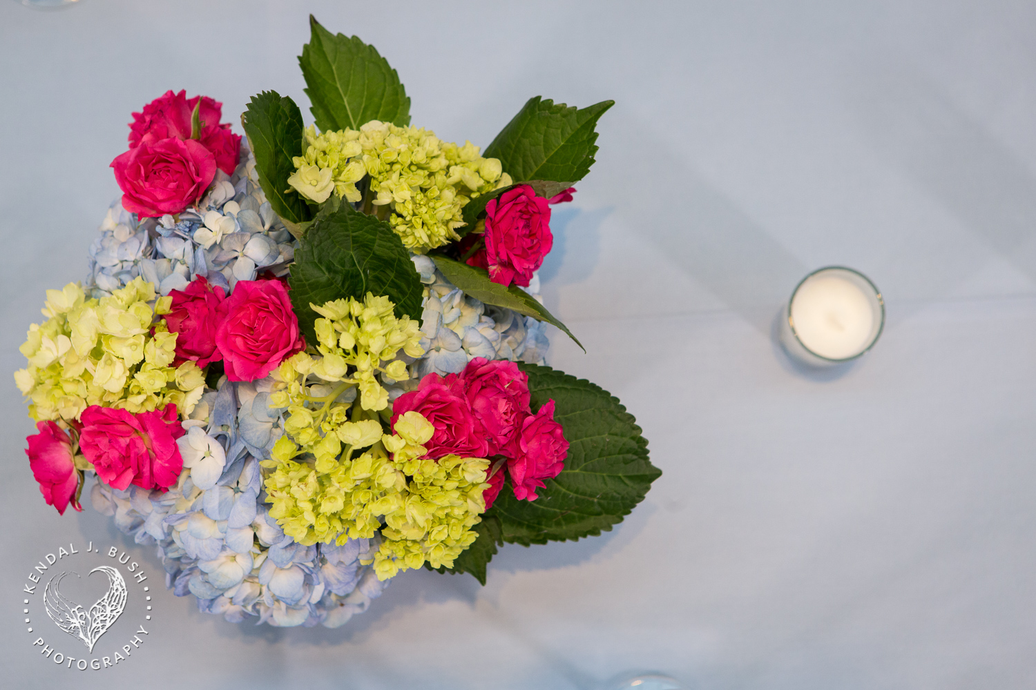Malloy Events_Currier Museum of Art_Weddings_Sketch blue and pink flowers