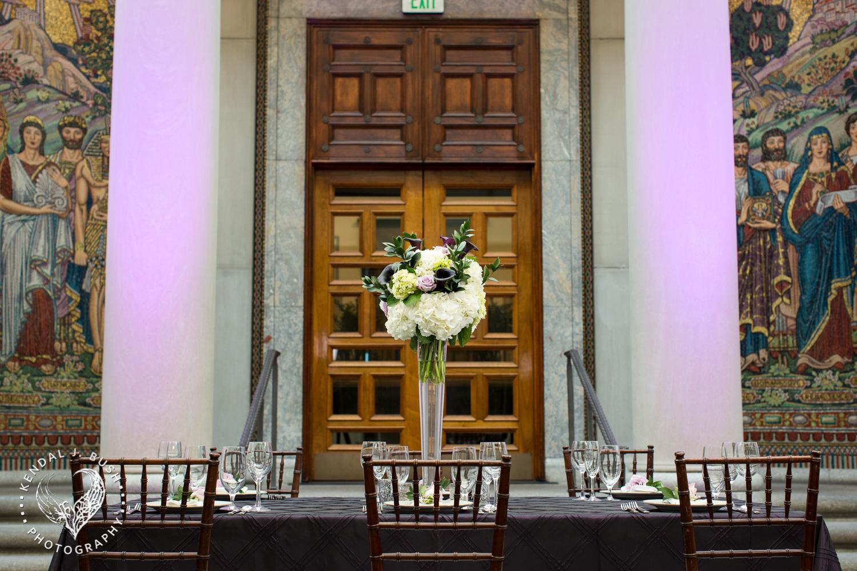 Malloy Events | New England wedding florist | Currier Museum of Art | Winter Garden