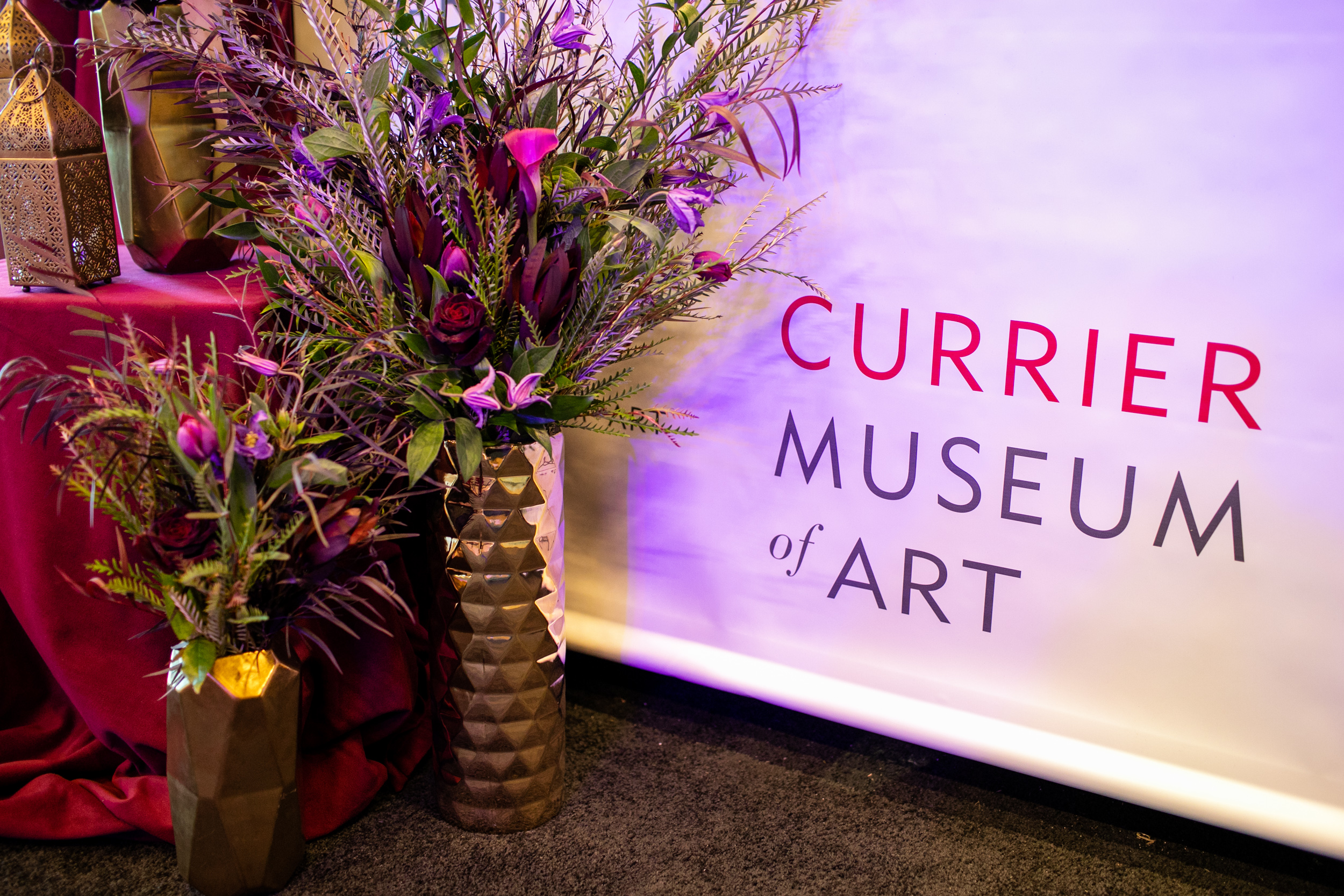 Masquerade_Ball_Currier_Museum_Manchester_Malloy_Events_floral_branding