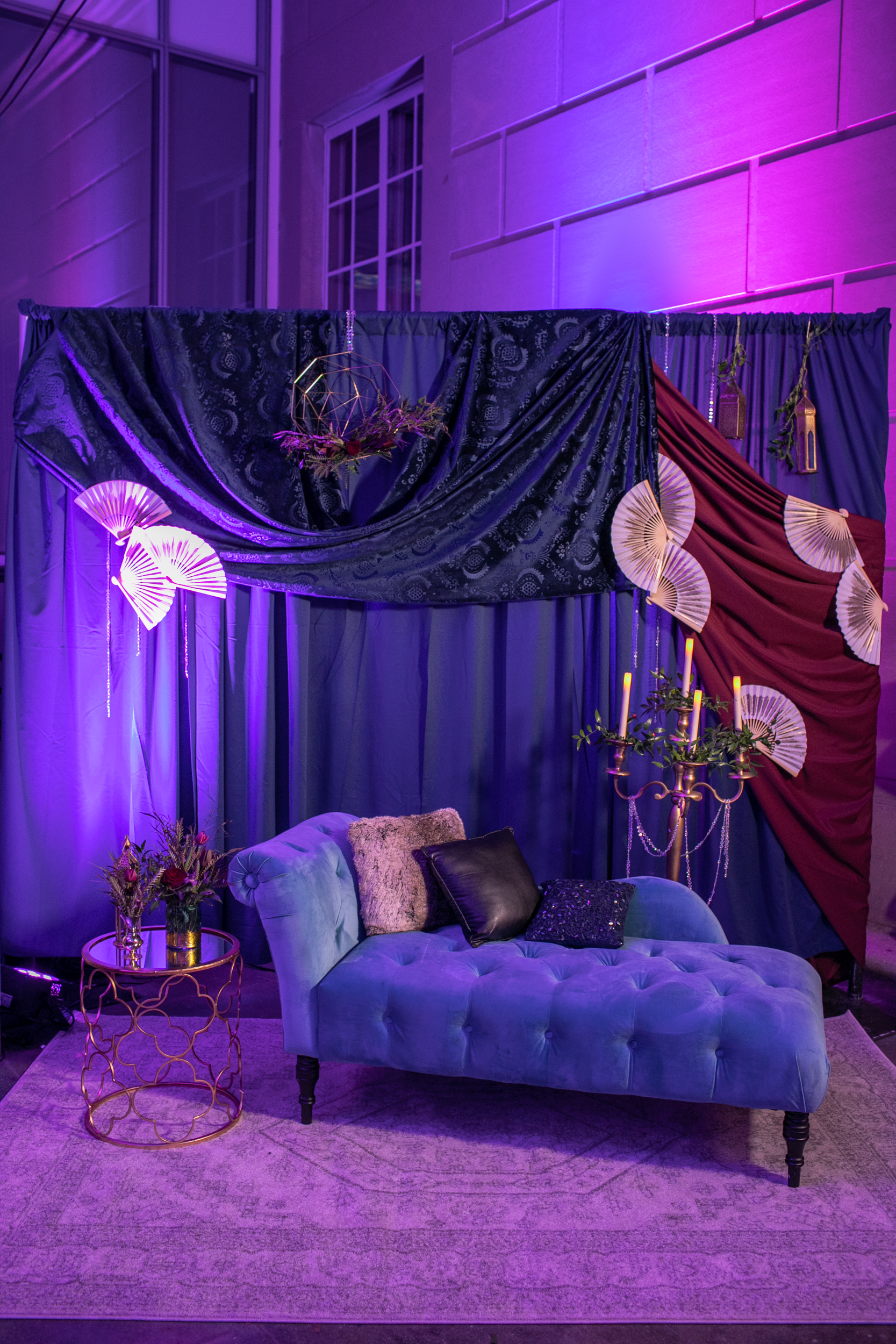 Masquerade_Ball_Currier_Museum_Manchester_Malloy_Events_lounge_furnishings_drape