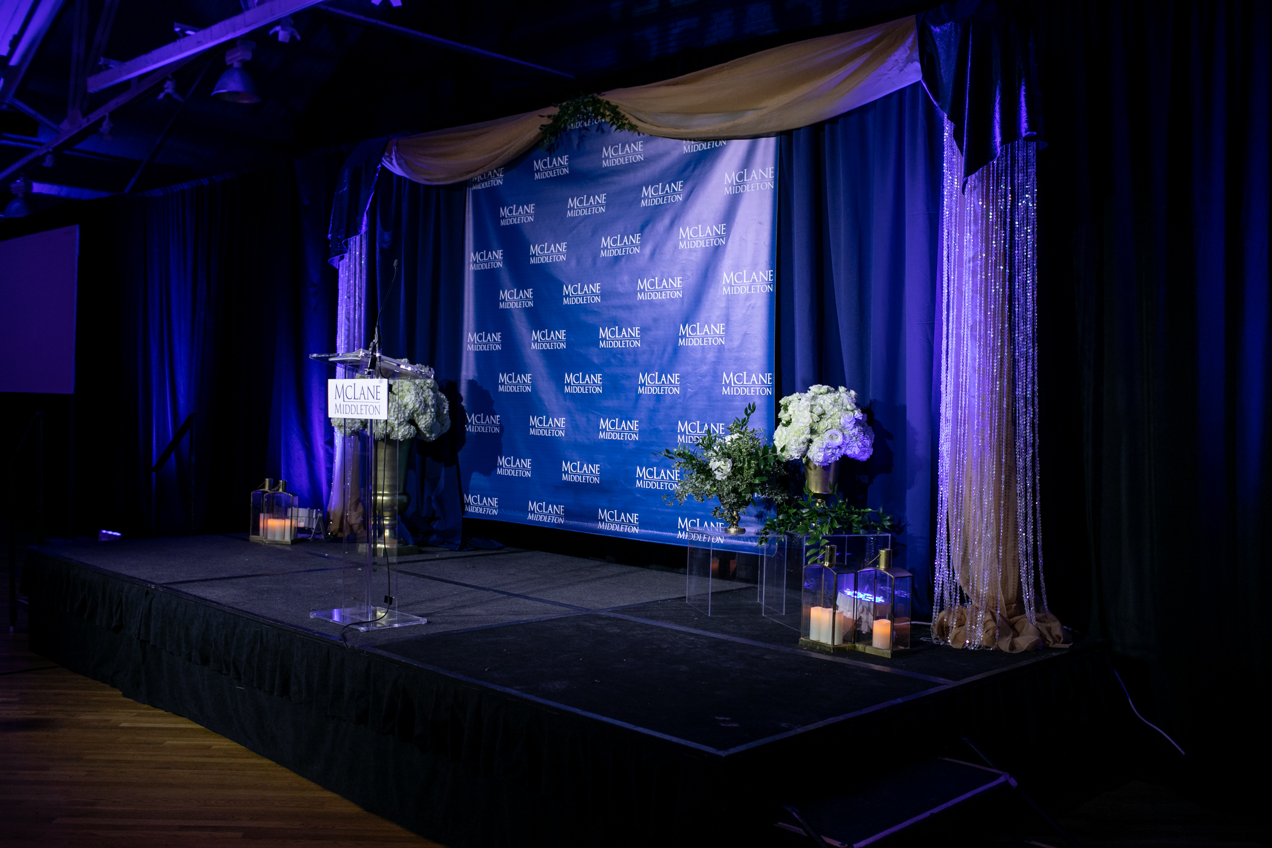 Malloy_Events_Pizzuti_McLane_Middleton_Centennial_Celebration_Manchester_NH_Corporate_Production_stage_drape