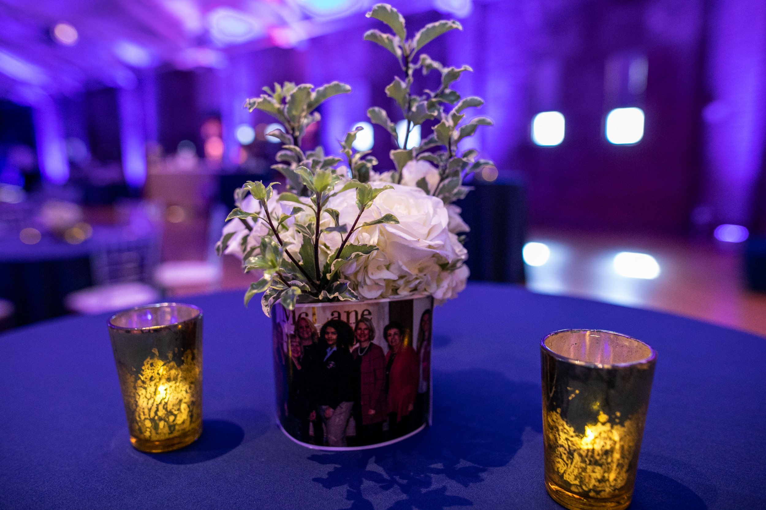 Malloy_Events_Pizzuti_McLane_Middleton_Centennial_Celebration_Manchester_NH_Corporate_Production_centerpieces_floral