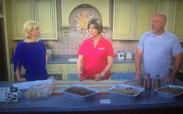 We've been getting some press lately! Joe was on the set of Good Day Tulsa to promote the Claremore Boots & BBQ Festival and to feed the morning crew.   http://ktul.com/good-day-tulsa/videos/boots-bbq-festival-05-12-2016-162516860
