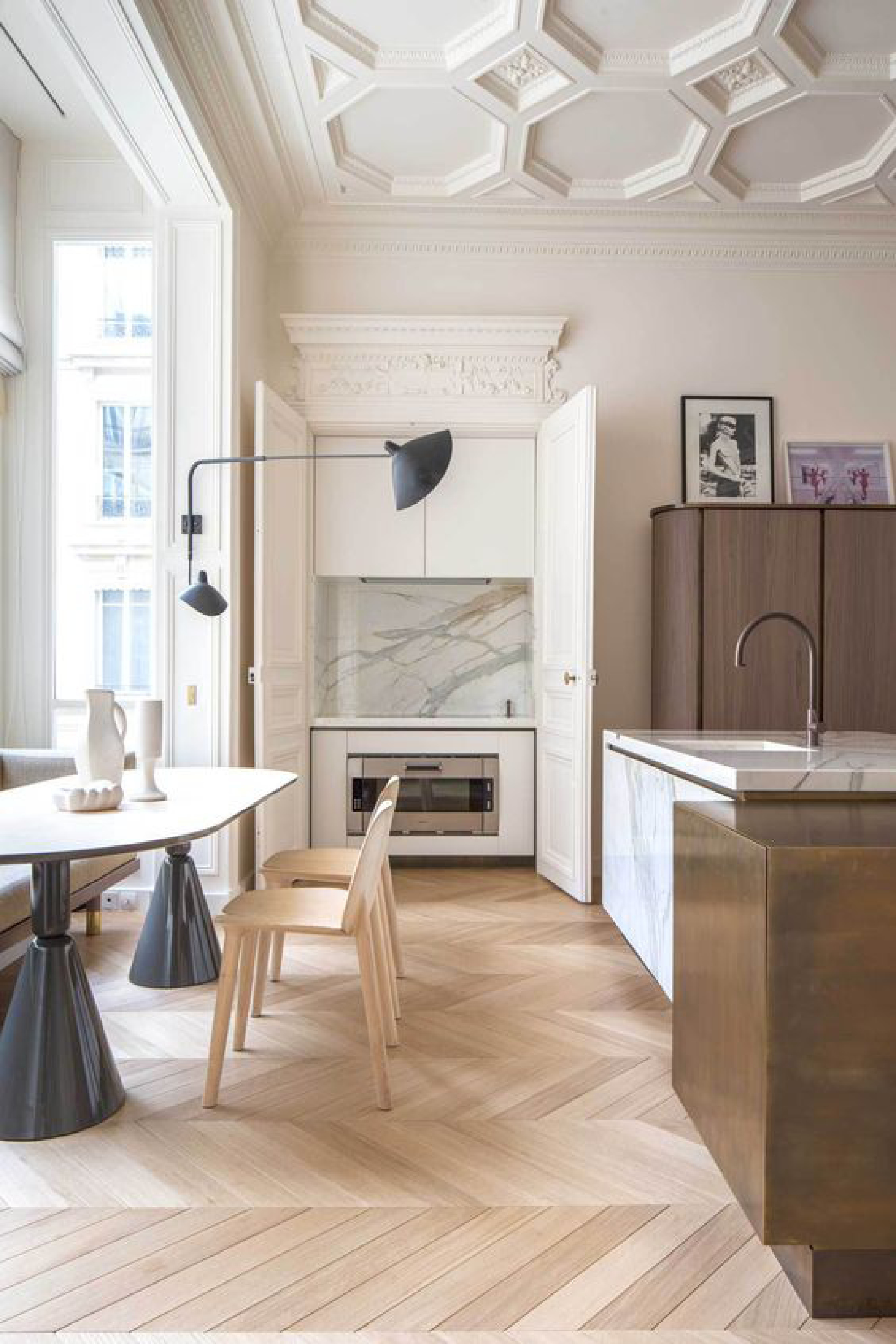 Apartment Trocadero by Rodolphe Parente Photography © Olivier Amsellem.