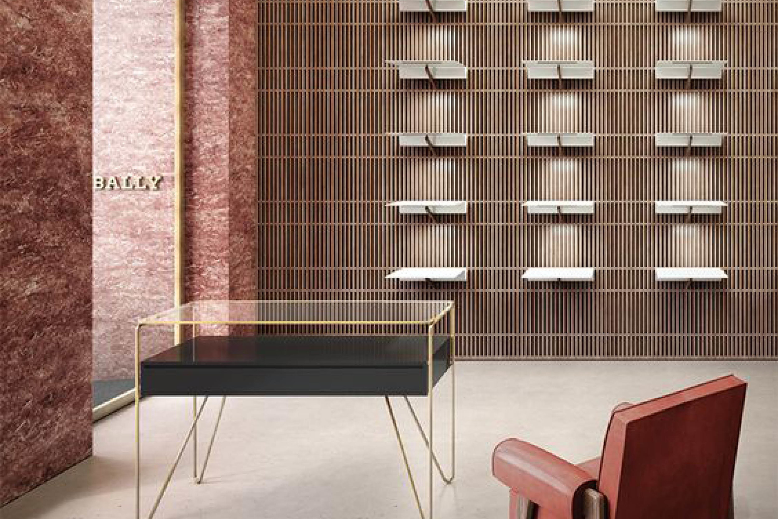 Bally LA store designed by architect David Chipperfield