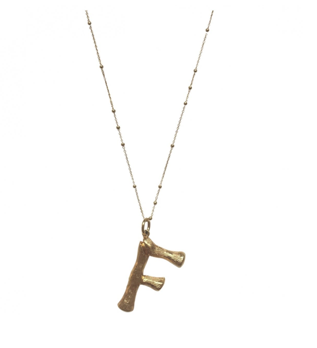 Céline Alphabet Necklace