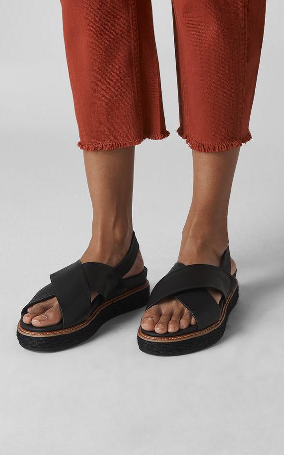 Robyn Cross Strap Sandal, Whistles