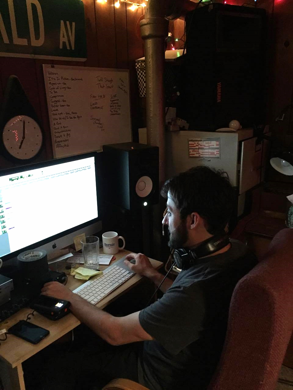 Michael assisted with additional recording