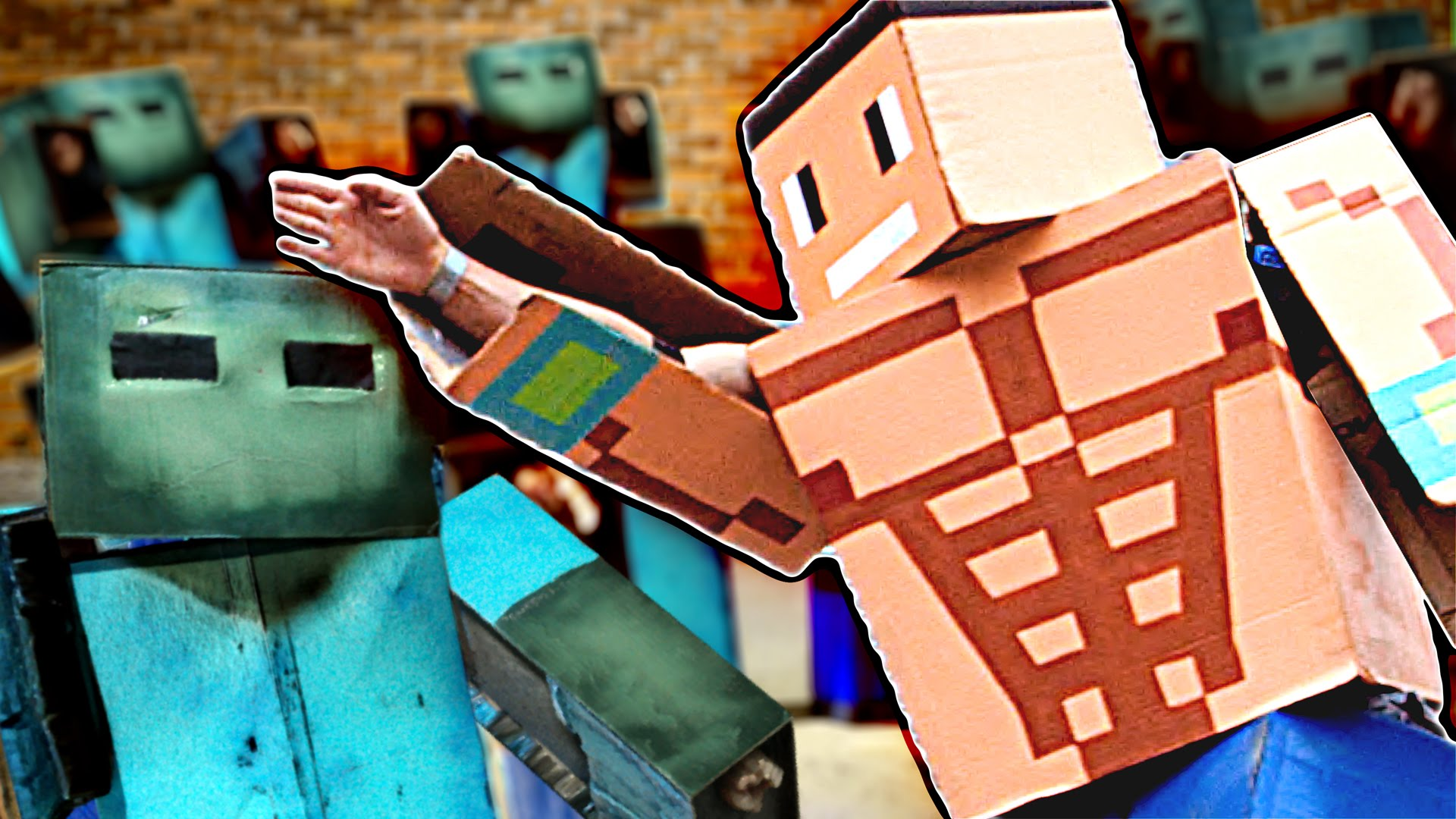 Corridor Digital Minecraft WWE John Cena