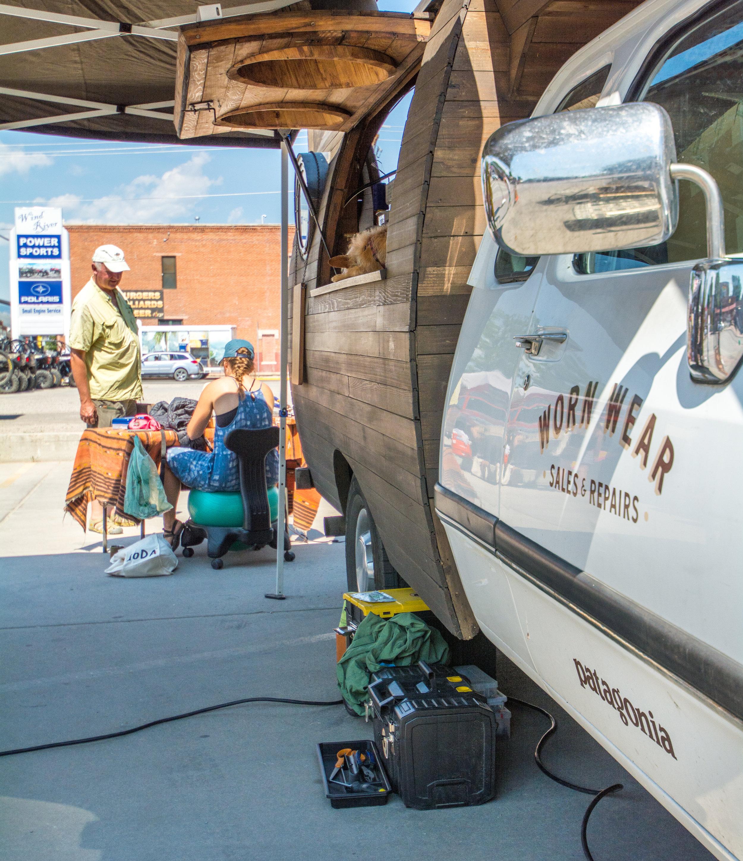 Patagonia Worn Wear Repair Wagon