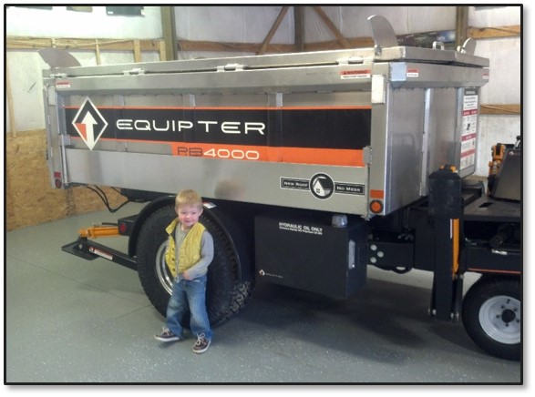 Clark, born in 2009, is the first of the next generation of roofers