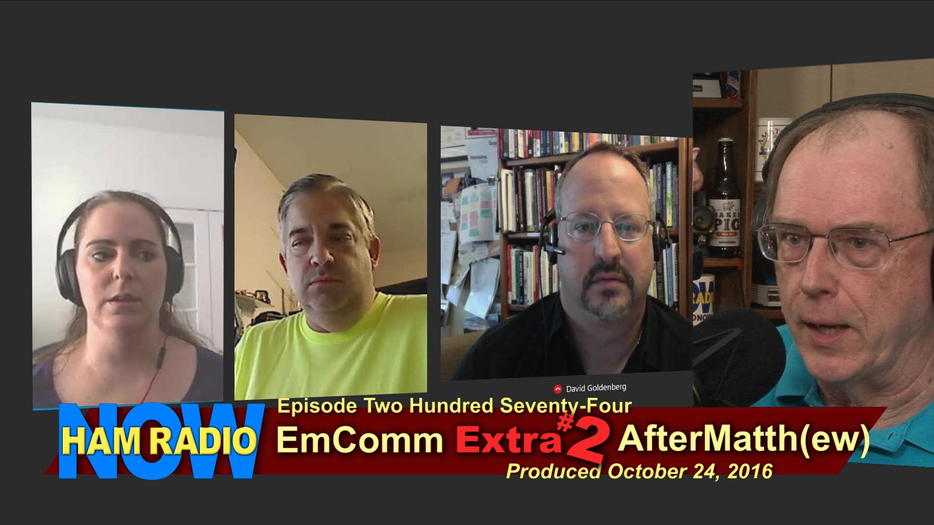 HRN 274 - EmComm Extra #2: AfterMatth(ew) on HamRadioNow