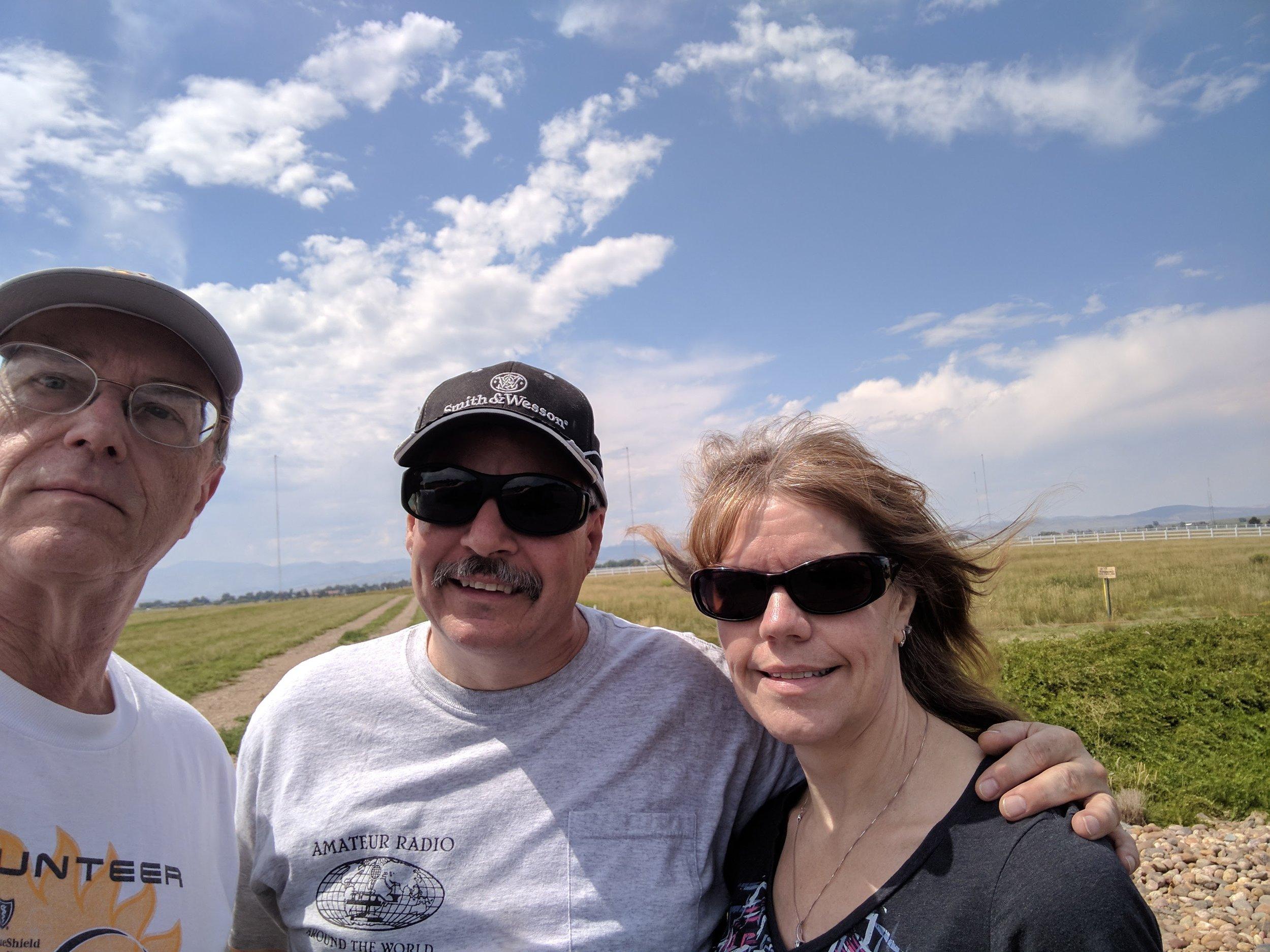 Gary, Jeff, Bobbie at WWV