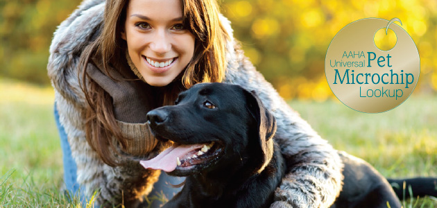 Click here you use the universal Micro Chip Database to help reunite a lost pet.
