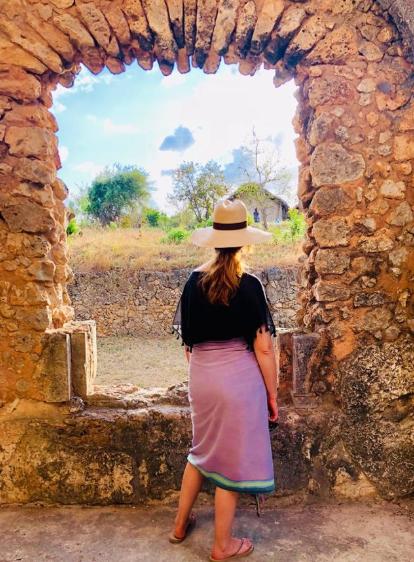 A walk through the Unesco Heritage Site Ruins, Kilwa Kiswani
