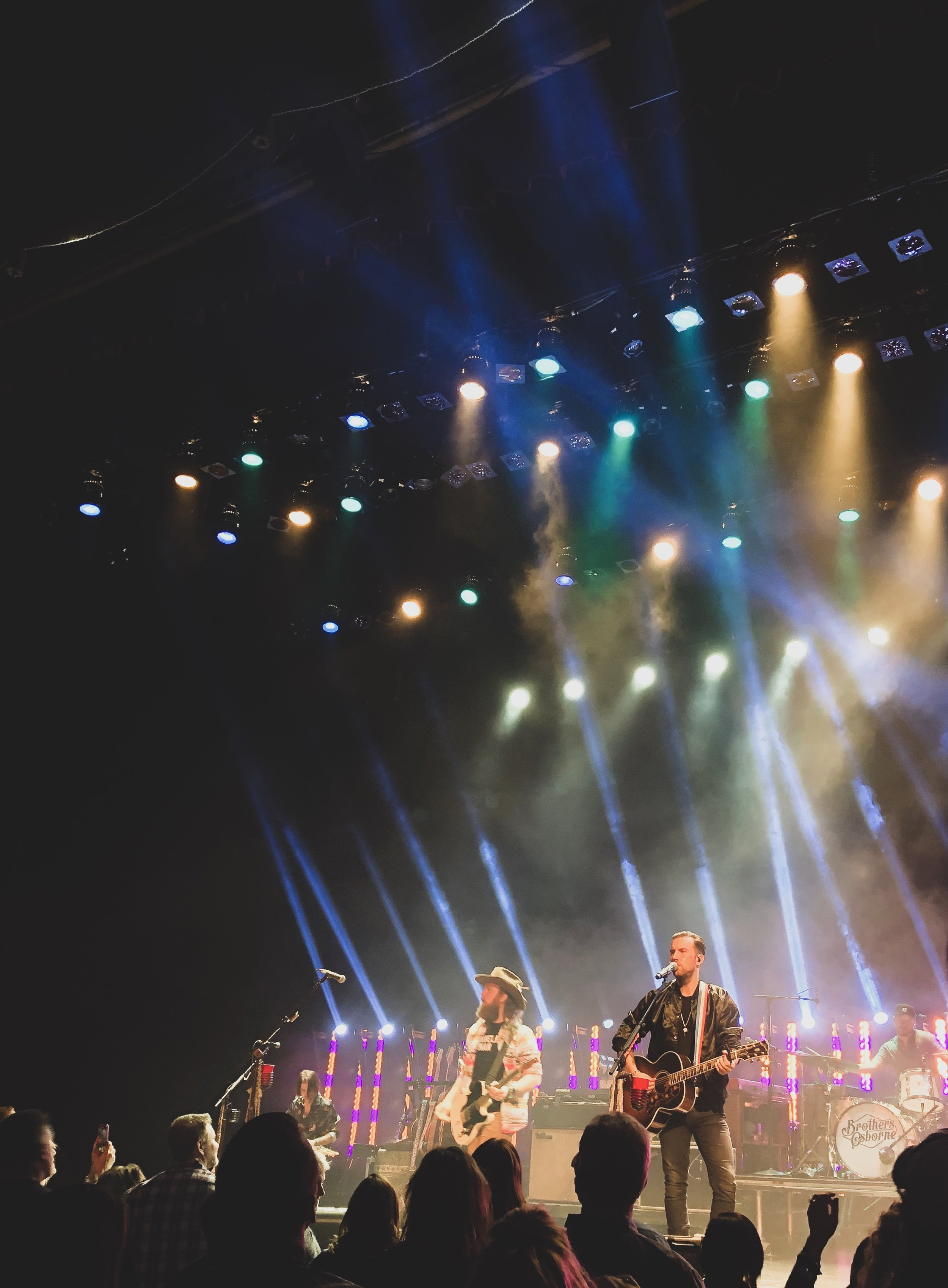 """#3 brothers osborne - Louisville Palace - November 9, 2018""""Love The Lonely Out of You""""The transparency of how much this duo is impassioned about their art is boldly noticed when they take the stage. They leave it all on there, too."""