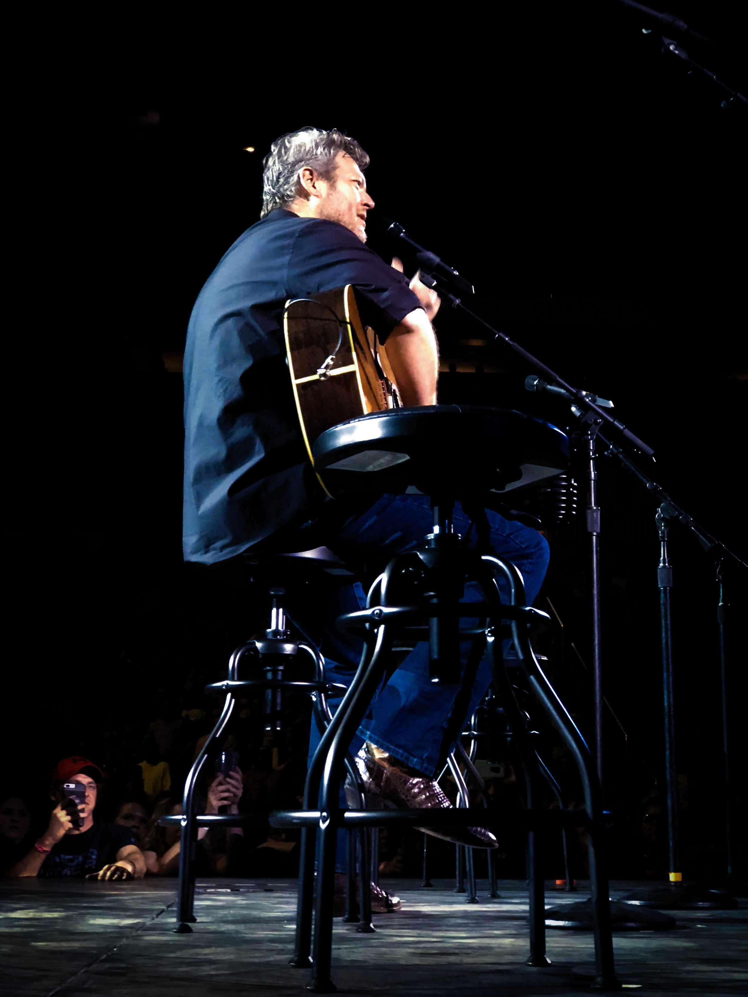 """Blake closes his set with """"Austin"""" - his 2001 debut record that launched him into super stardom. While he's a global phenomenon, Blake is still rooted in tradition and doesn't forget about the song that got him where he is today."""