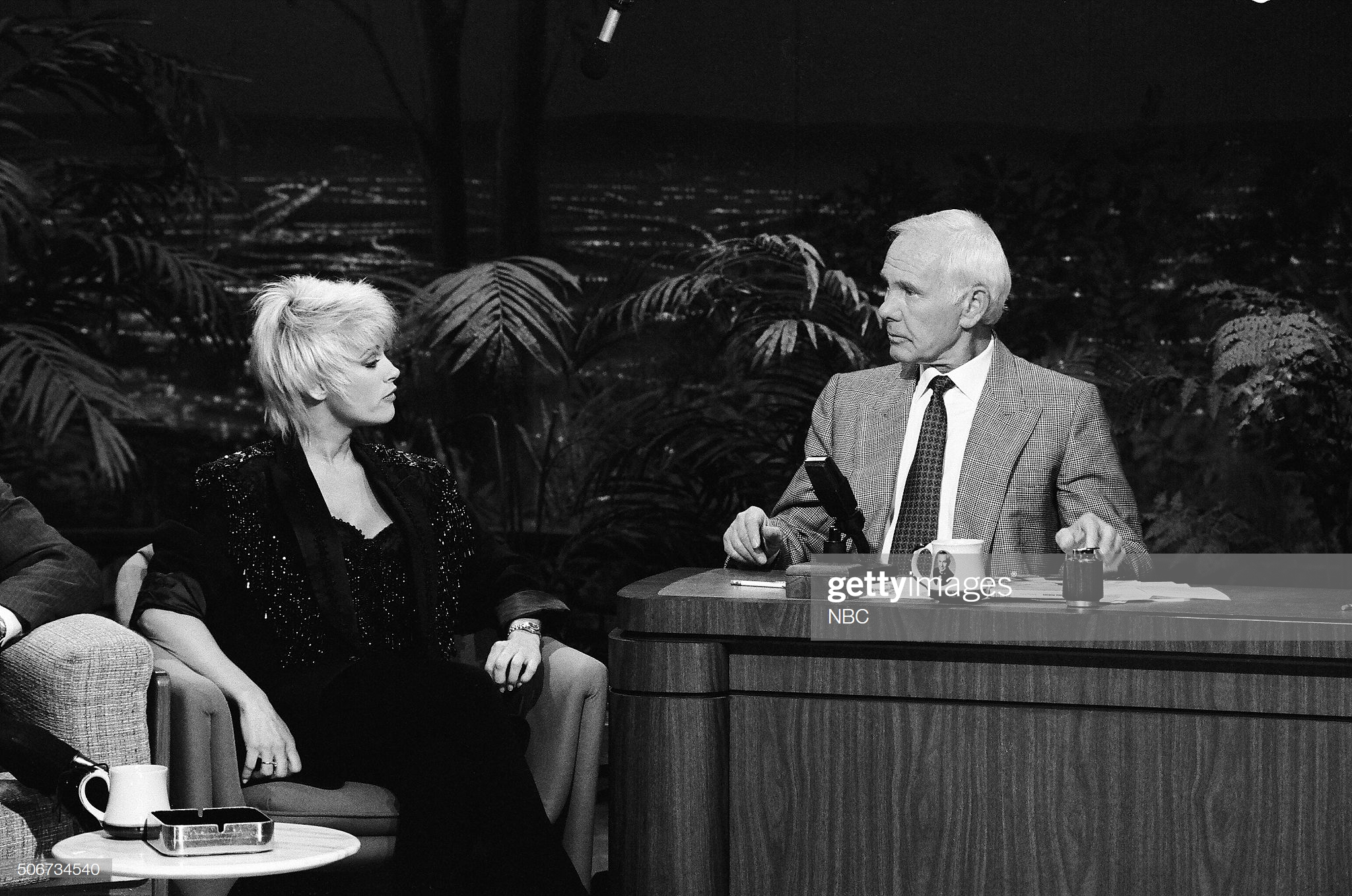 """I remember I was a nervous wreck, but Johnny was so gracious to me. I got to go over and sit on the couch and talk to him. Johnny always reminded me a lot of my dad, and I told him that off-camera. I was just so honored and humbled to be on the show."" -  Medium /photo getty images"