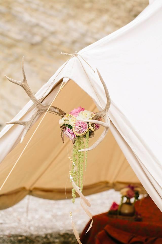 Bohemain Tent on the Beach
