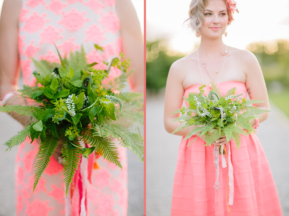 Foliage and greenery bouquet