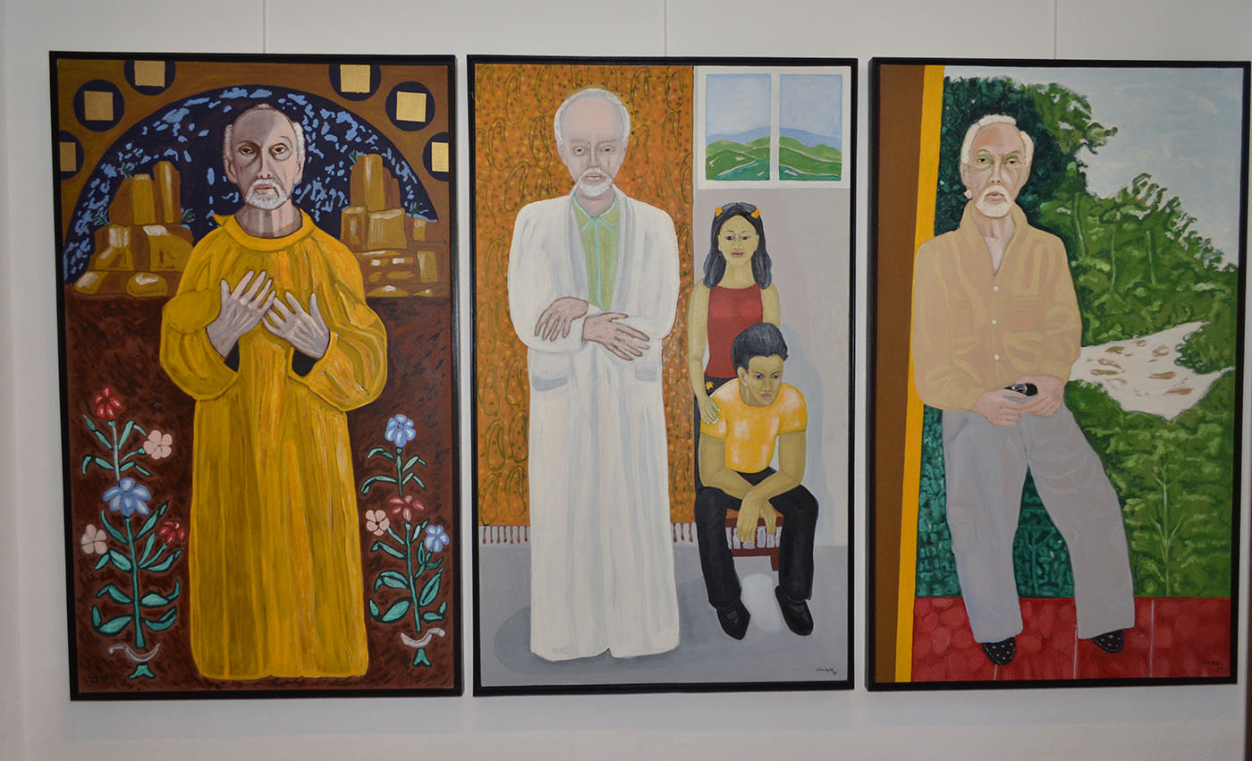 """Foto 26 Parte de las obras expuesta del artista en la exposición """"El Retrato según Fernando Peña Defilló""""..jpg"""