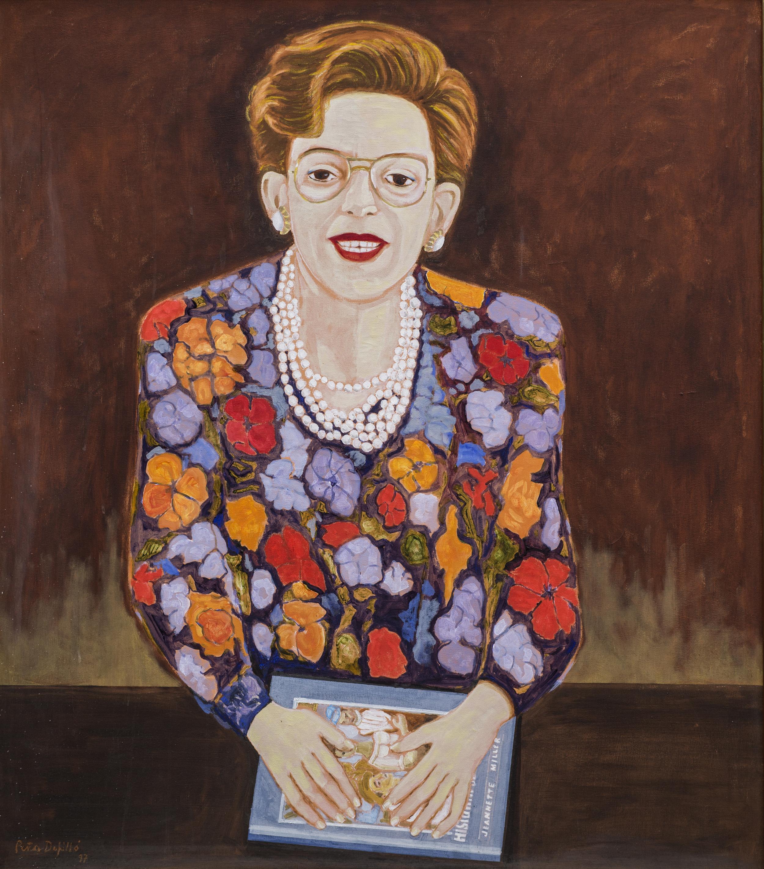 Retrato de Jeannette Miller, 1997.