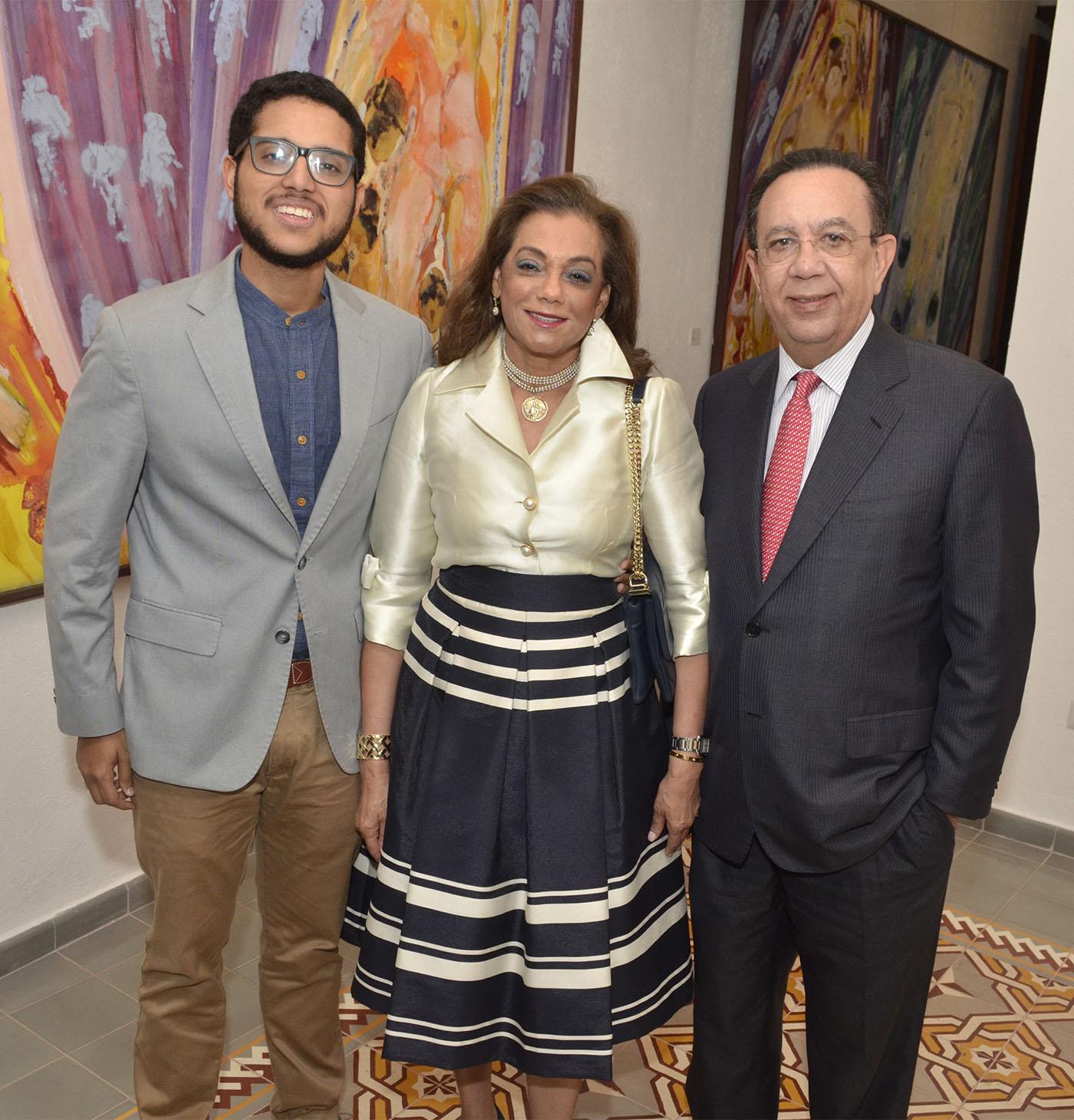 Héctor Valdéz hijo, Fior D'Aliza Martínez y Héctor Valdez Albizu