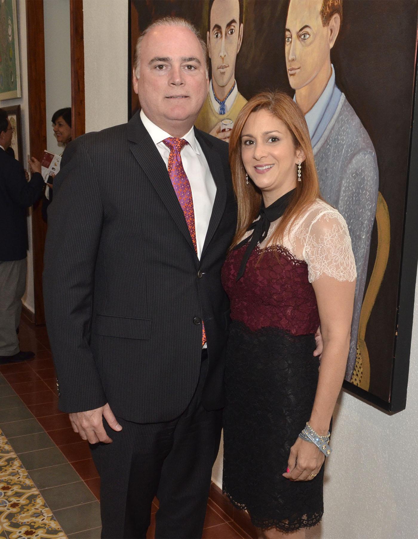 Alejandro Peña y Rosalía de Peña