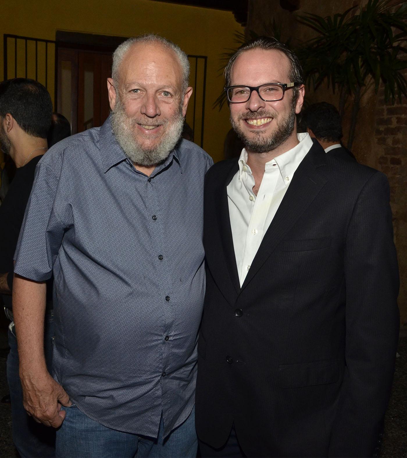 Freddy Ginebra y Pablo Mustonen
