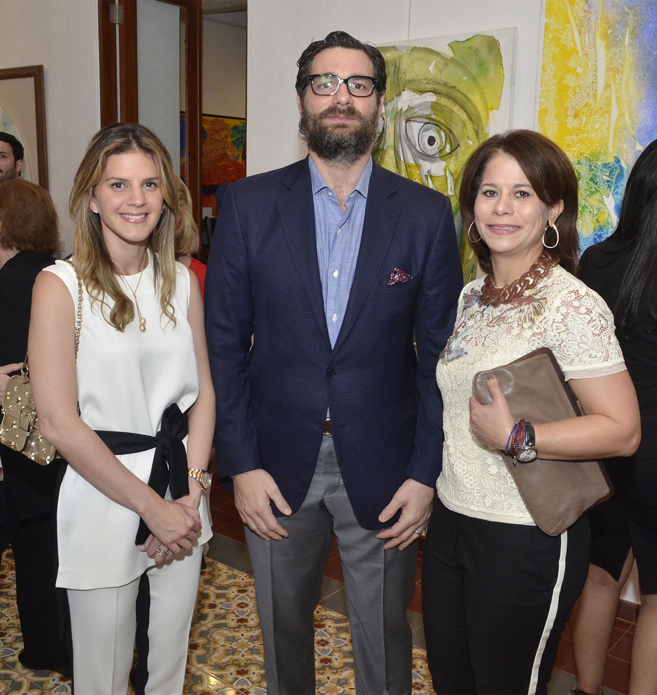 Elsa Hazoury, Gabriel Rouadi y Marian de Rouadi