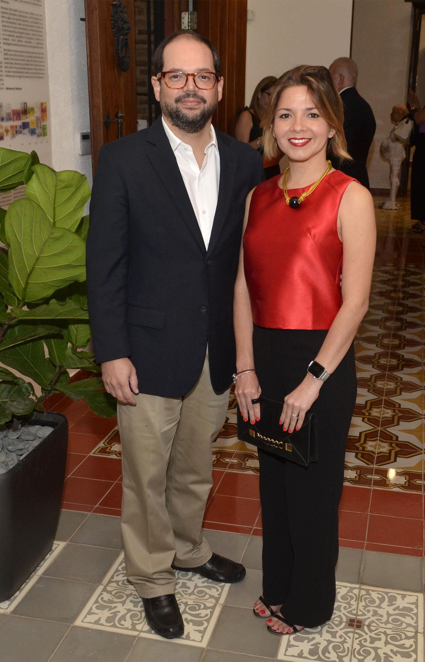 Gerardo Ramírez y Ayleen Hernández Viñas