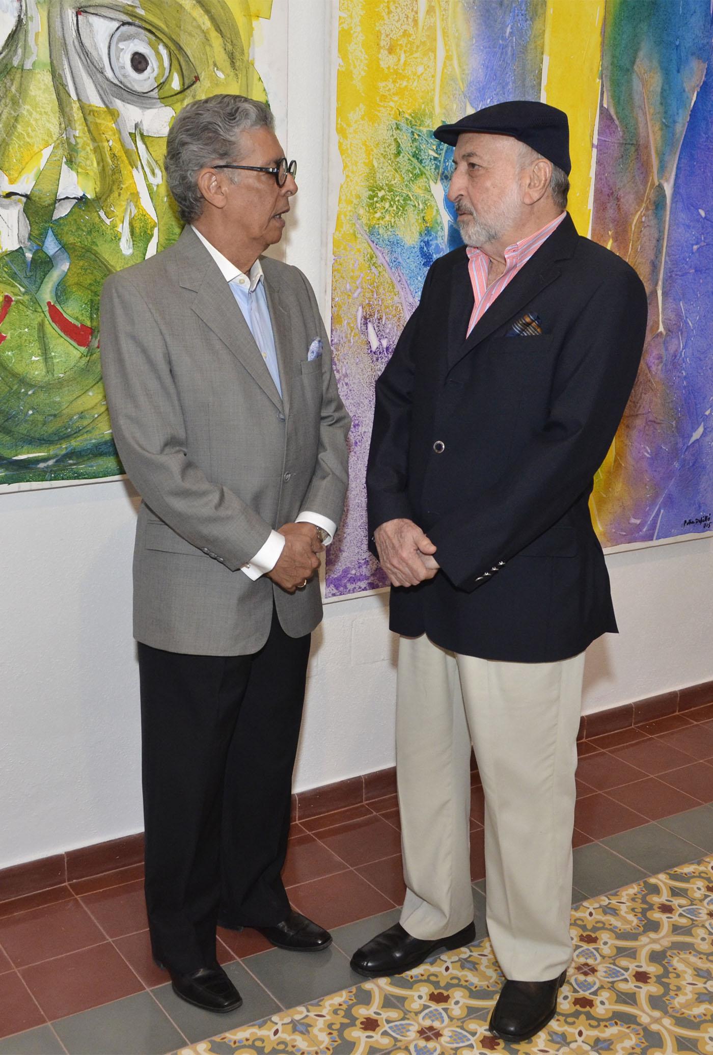 Carlos Rivas y Zaki Hazoury