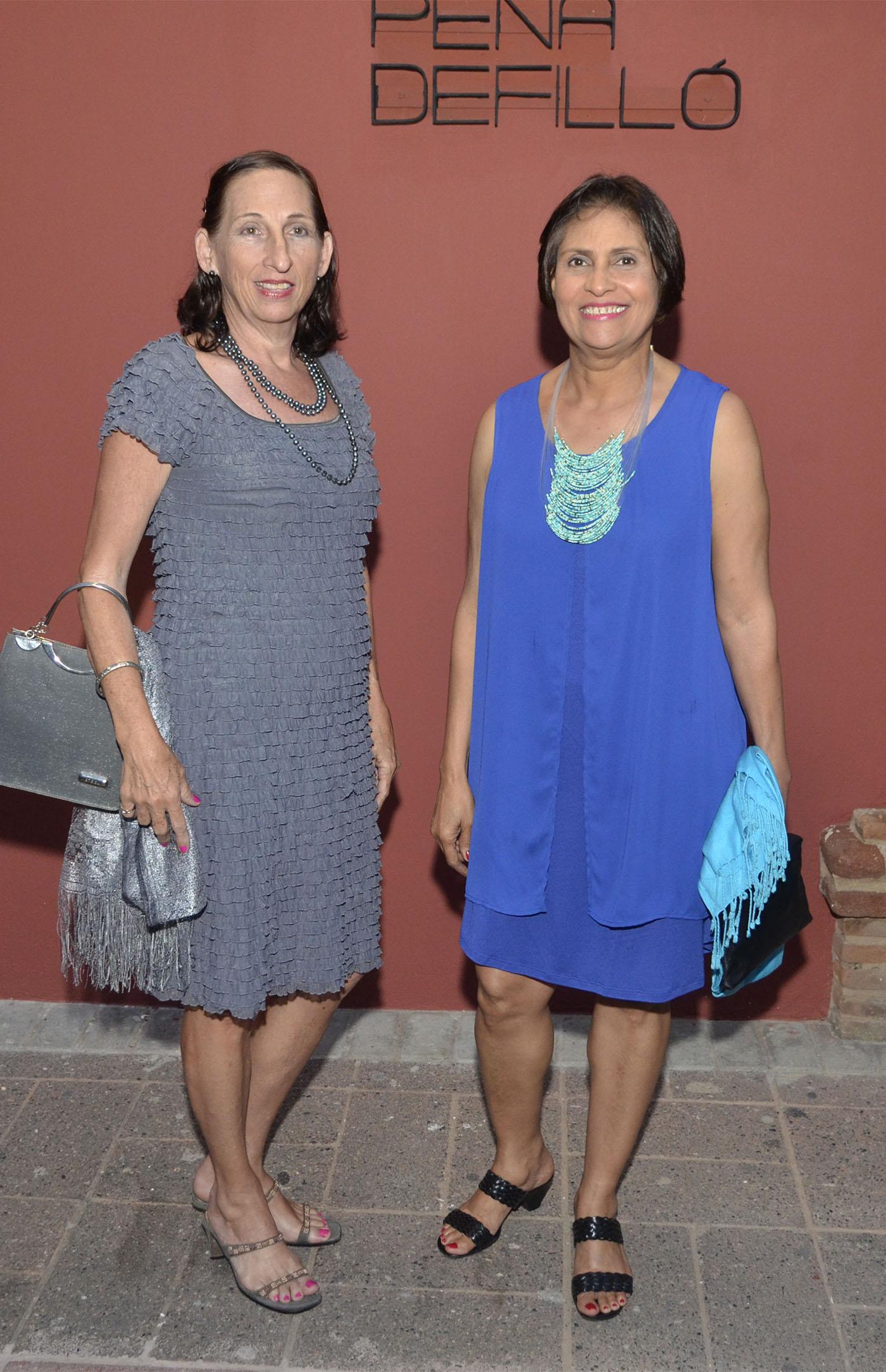 Hildegard Preusch y María Emilia Suárez