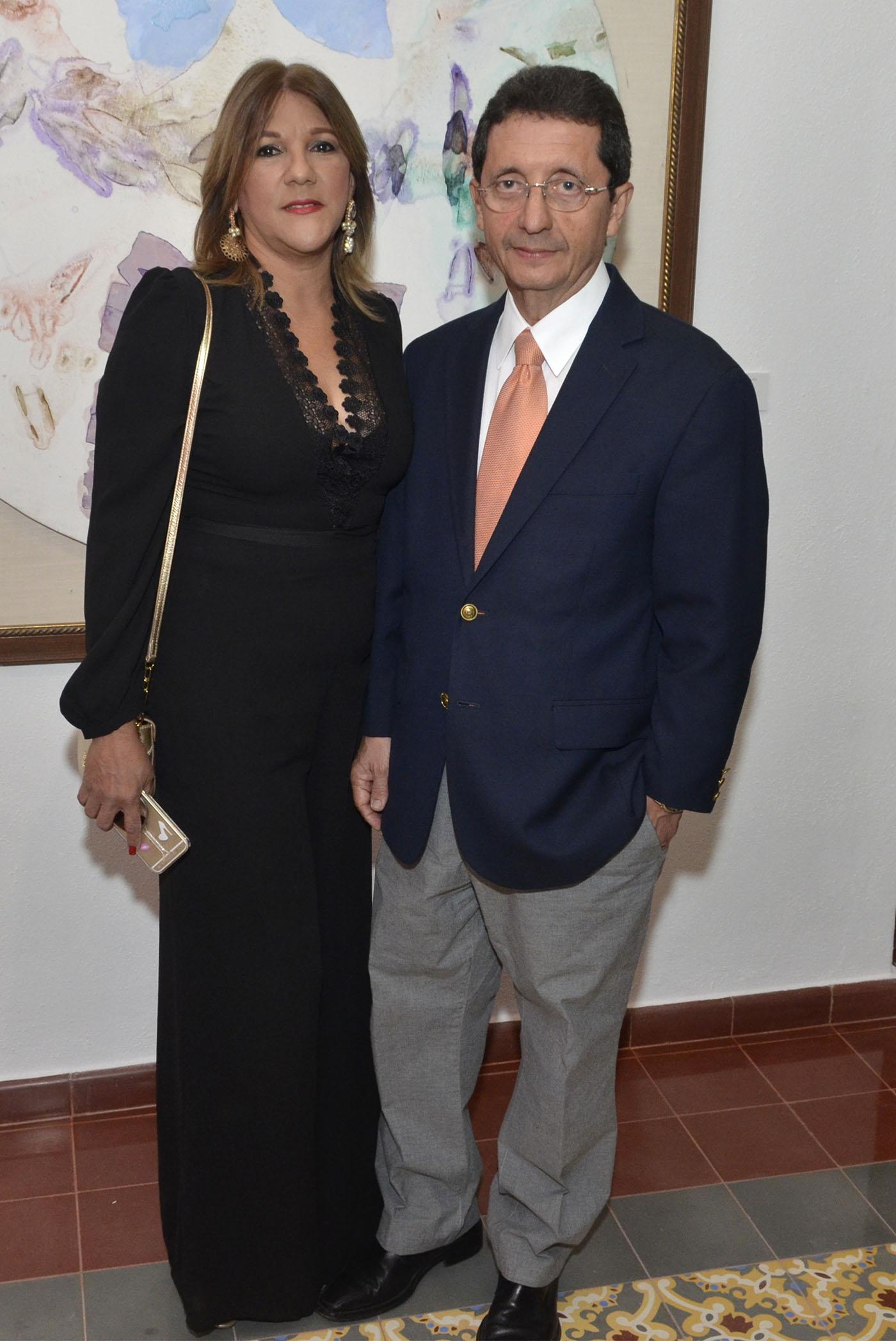 Flavia Guitiérrez y Ramón Núñez