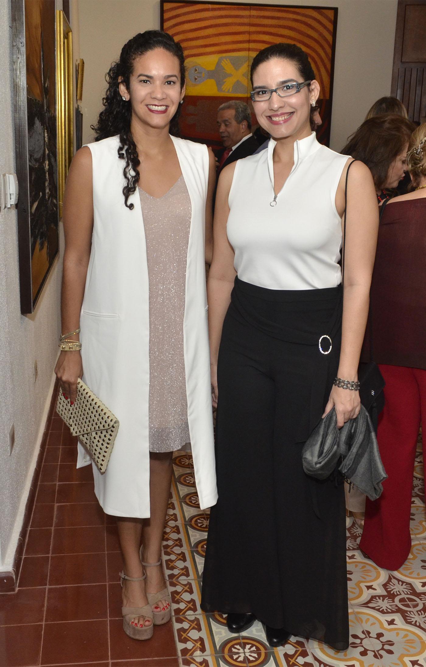 Natalia y Virginia Báez