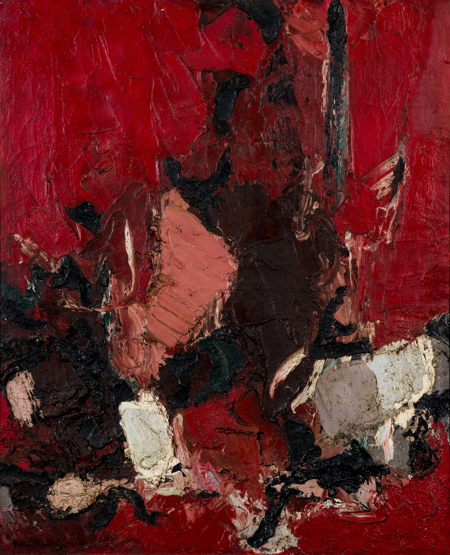 Naturaleza Abstracta (1954) I Mixto sobre tela
