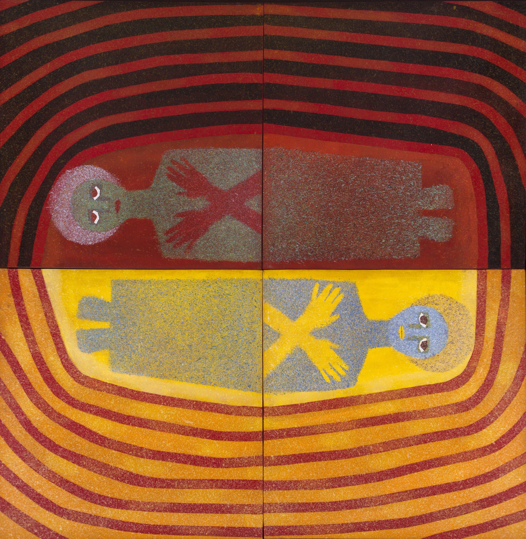 Sincrético (1983) I Acrílico sobre papel