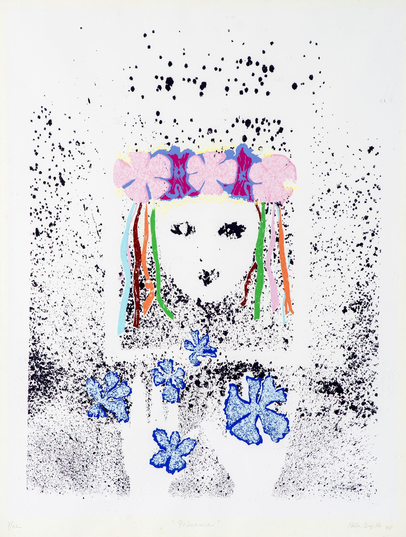 La primavera (1988) I Serigrafía