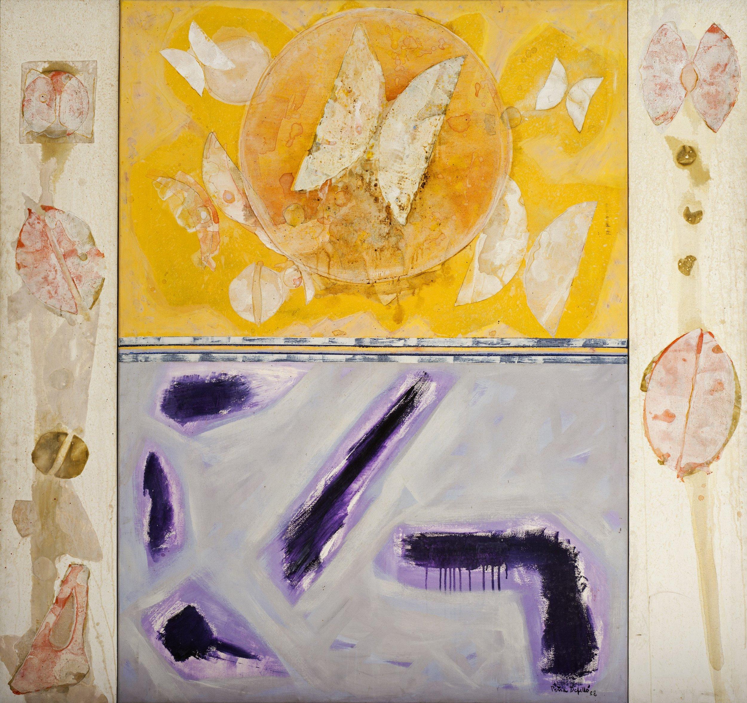 Serie Almas Mariposas (1988) I Acrílico sobre tela
