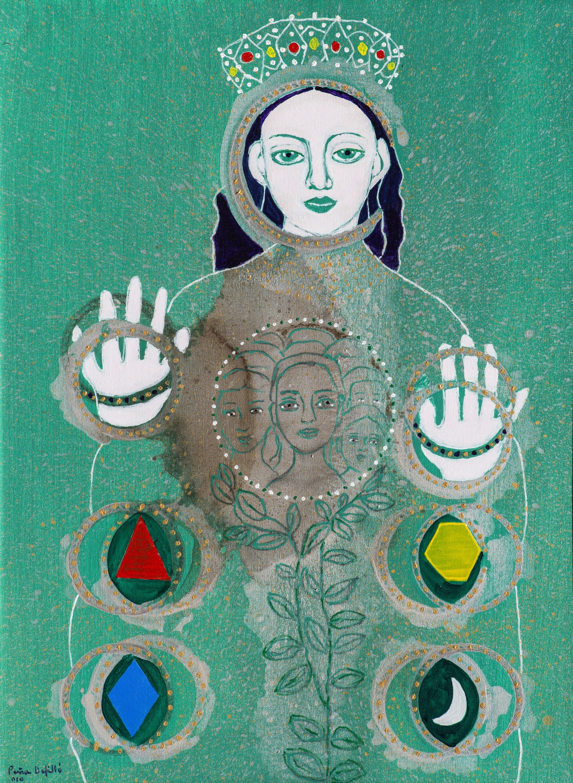 Virgen de la Esperanza (2010) I Acrílico sobre tela